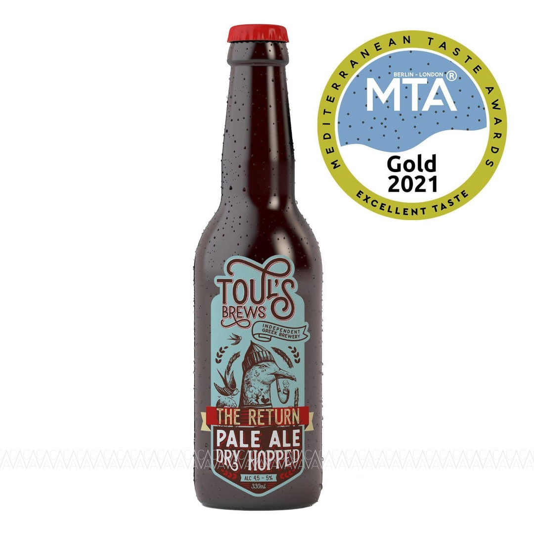 Toul's Brews The Return Pale Ale Dry Hopped Beer 330ml