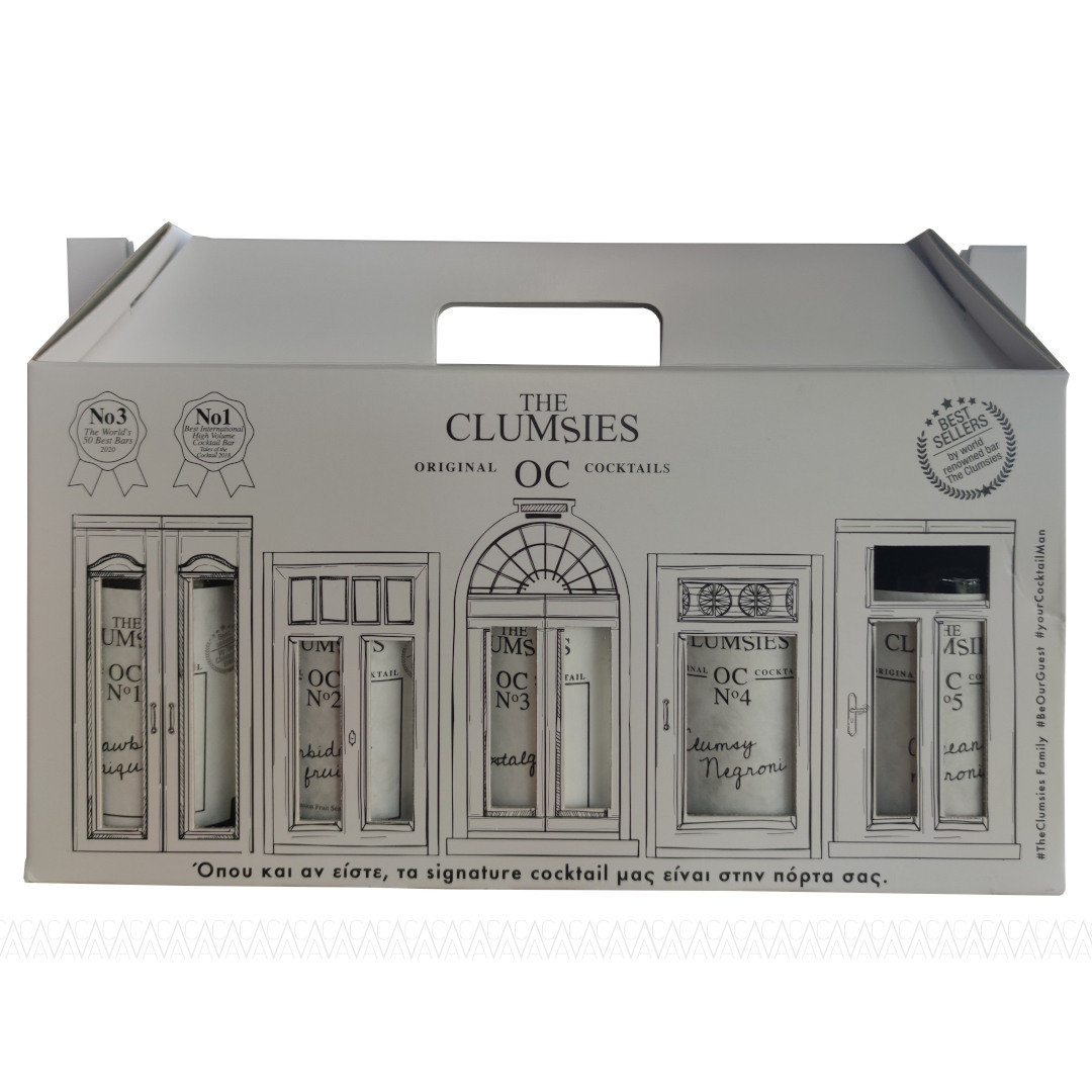 Clumsies The Clumsy Gift Pack (5x200ml)