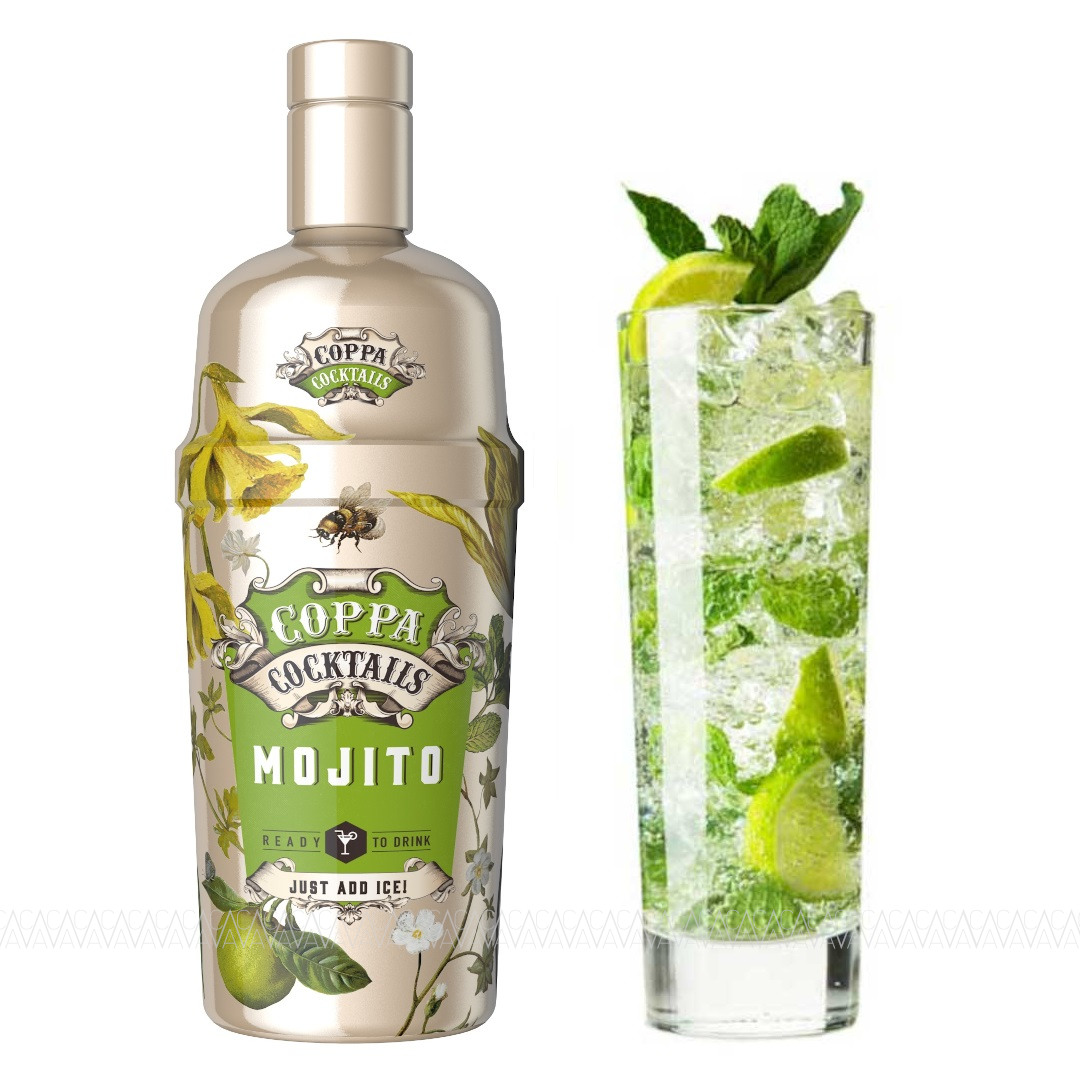 Coppa Mojito Cocktail 700ml σε Γυάλινο Shaker
