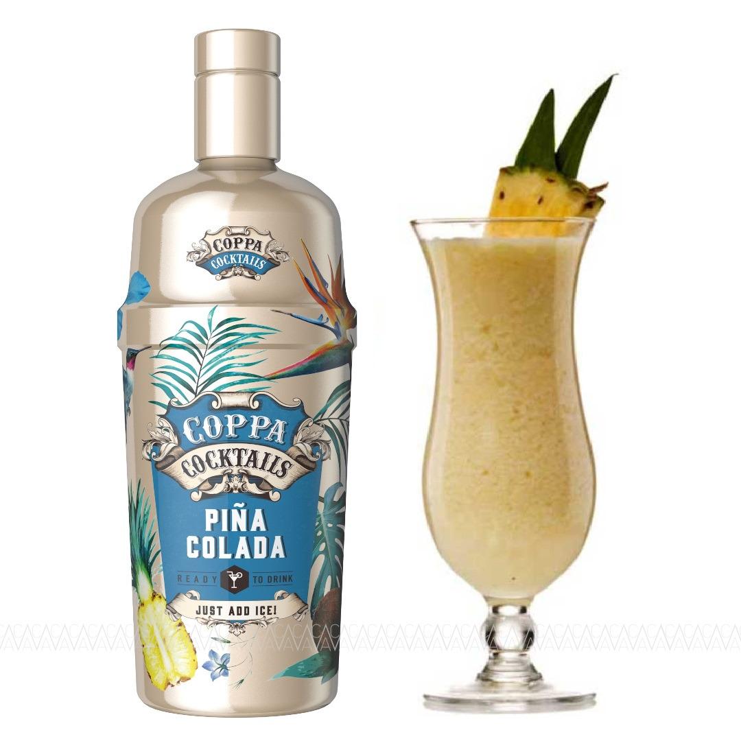 Coppa Pina Colada Cocktail 700ml σε Γυάλινο Shaker