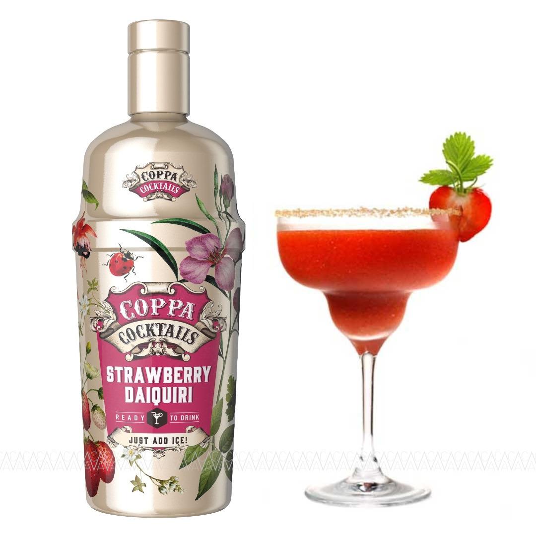 Coppa Strawberry Daquiri Cocktail 700ml