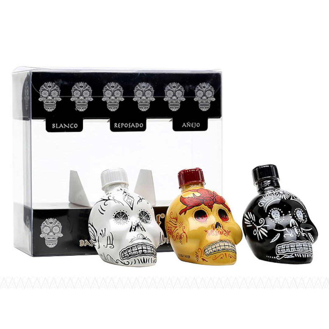 Kah Tequila Miniature Gift Pack 3x50ml