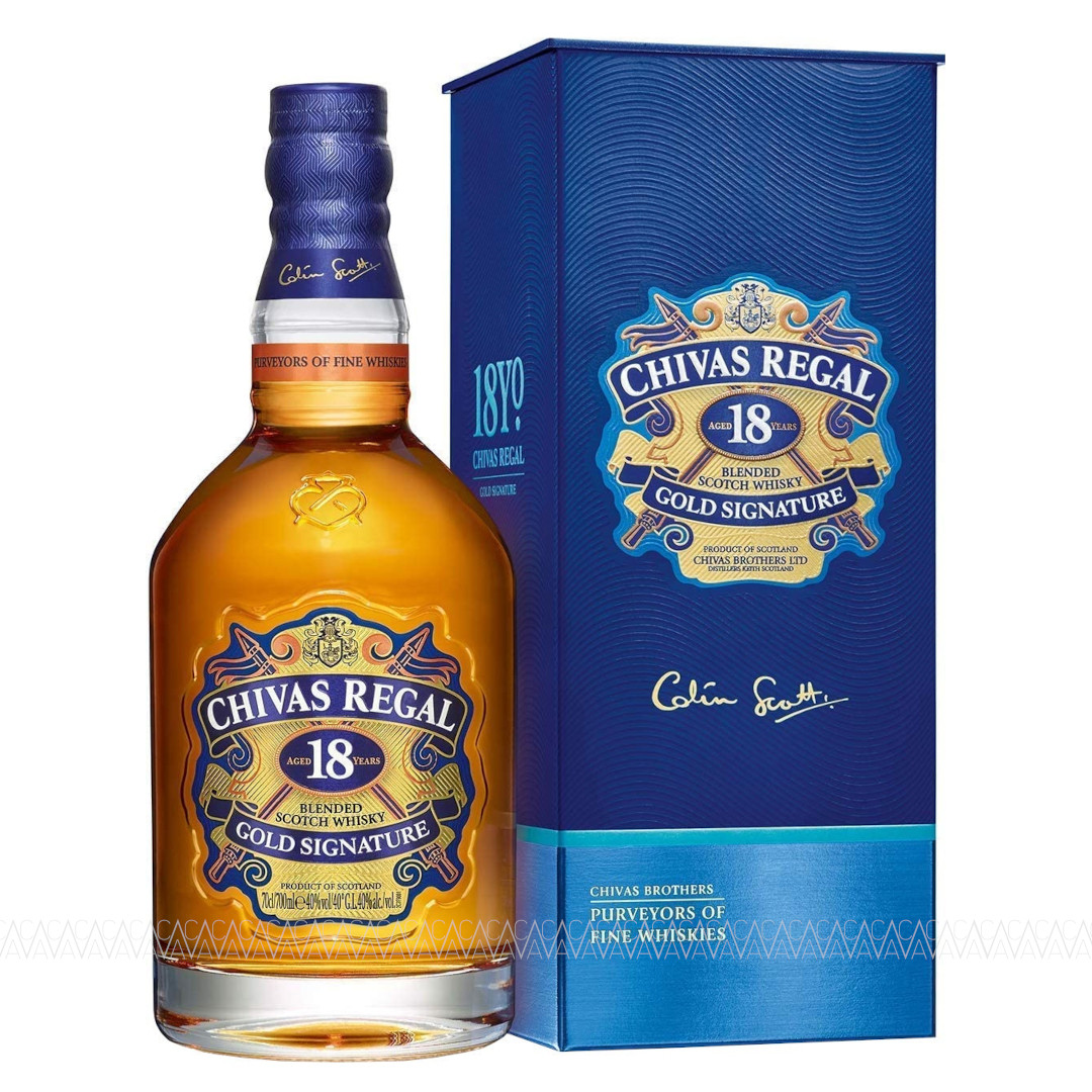 Chivas Regal 18 Years Old Blended Scotch Whisky 700ml