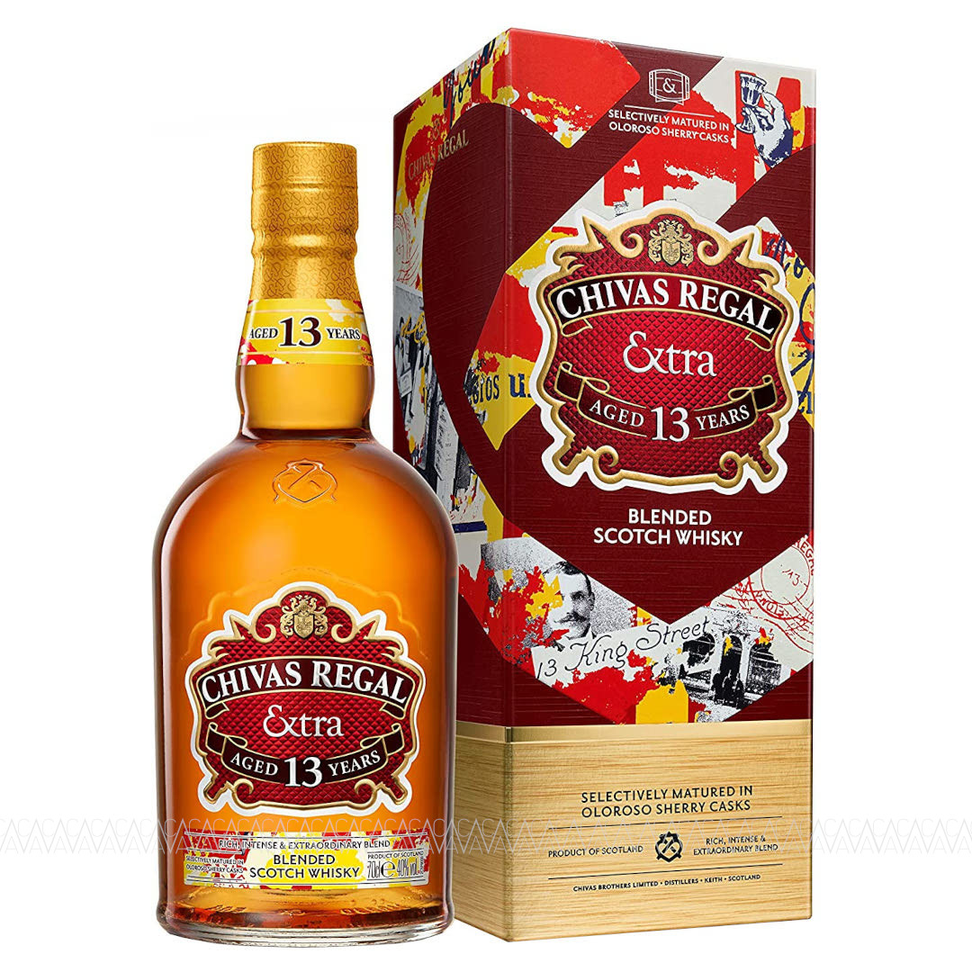 Chivas Regal Extra 13 Years Old Oloroso Sherry Cask Matured Blended Scotch Whisky 700ml