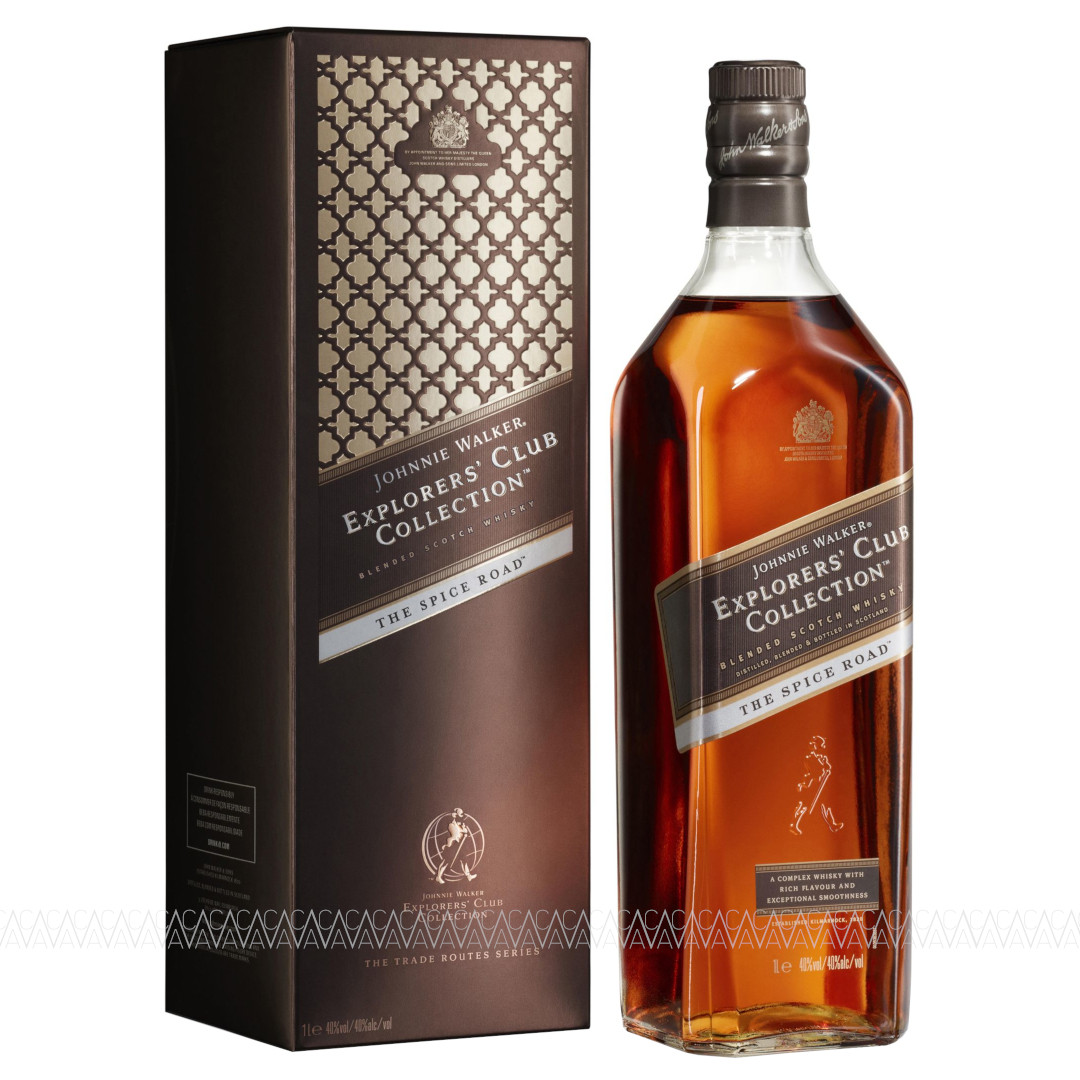 Johnnie Walker Explorer's Club Collection The Spice Road Blended Scotch Whisky 1 Λίτρο