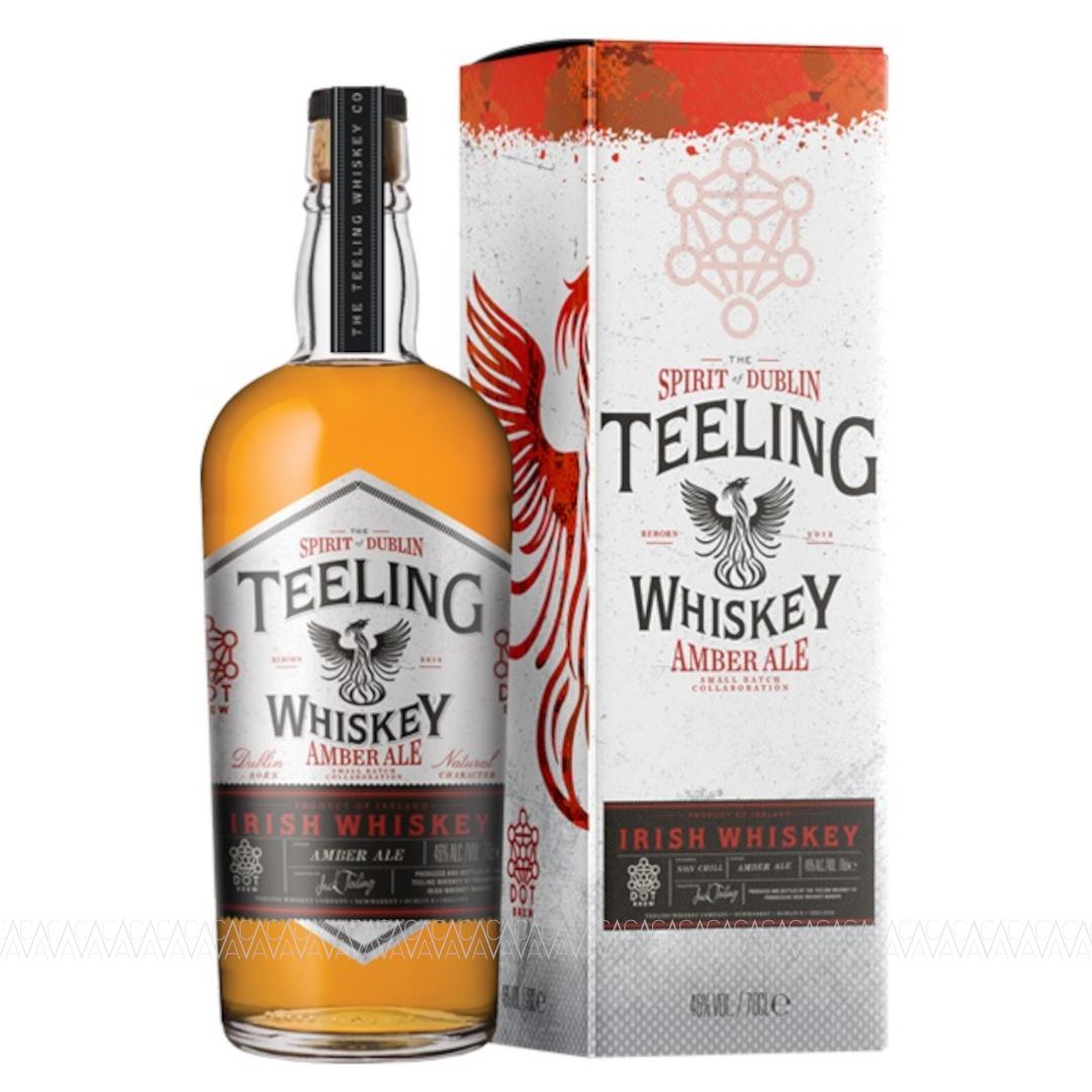 Teeling Amber Ale Finish Irish Whiskey 700ml