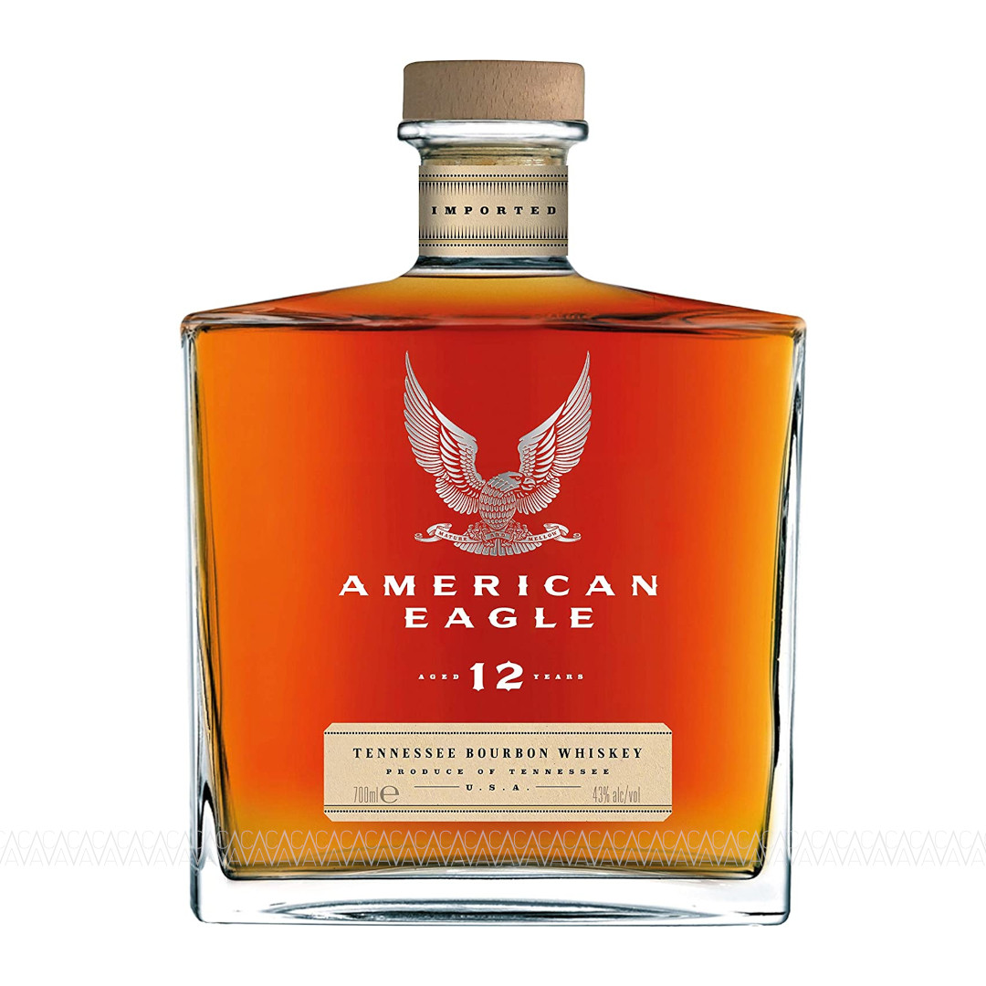 American Eagle 12 Years Old Tennessee Bourbon Whiskey 700ml