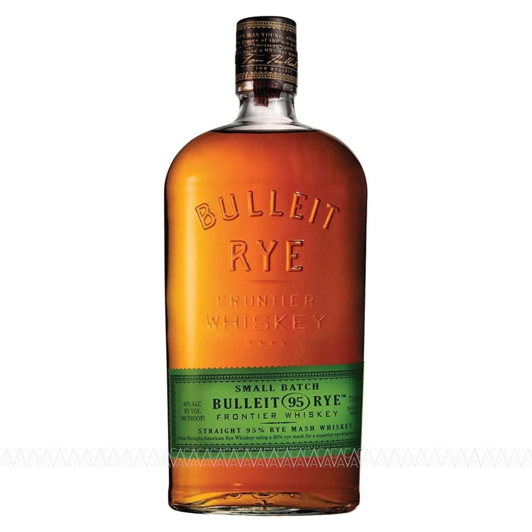 Bulleit 95 Rye Straight Rye Whiskey 700ml