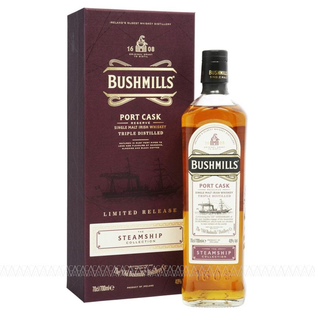Bushmills Steamship Collection Port Cask Reserve Single Malt Irish Whiskey 700ml