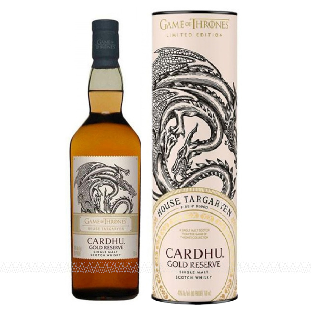 Cardhu Gold Reserve Game Of Thrones Single Malt Scotch Whisky 700ml