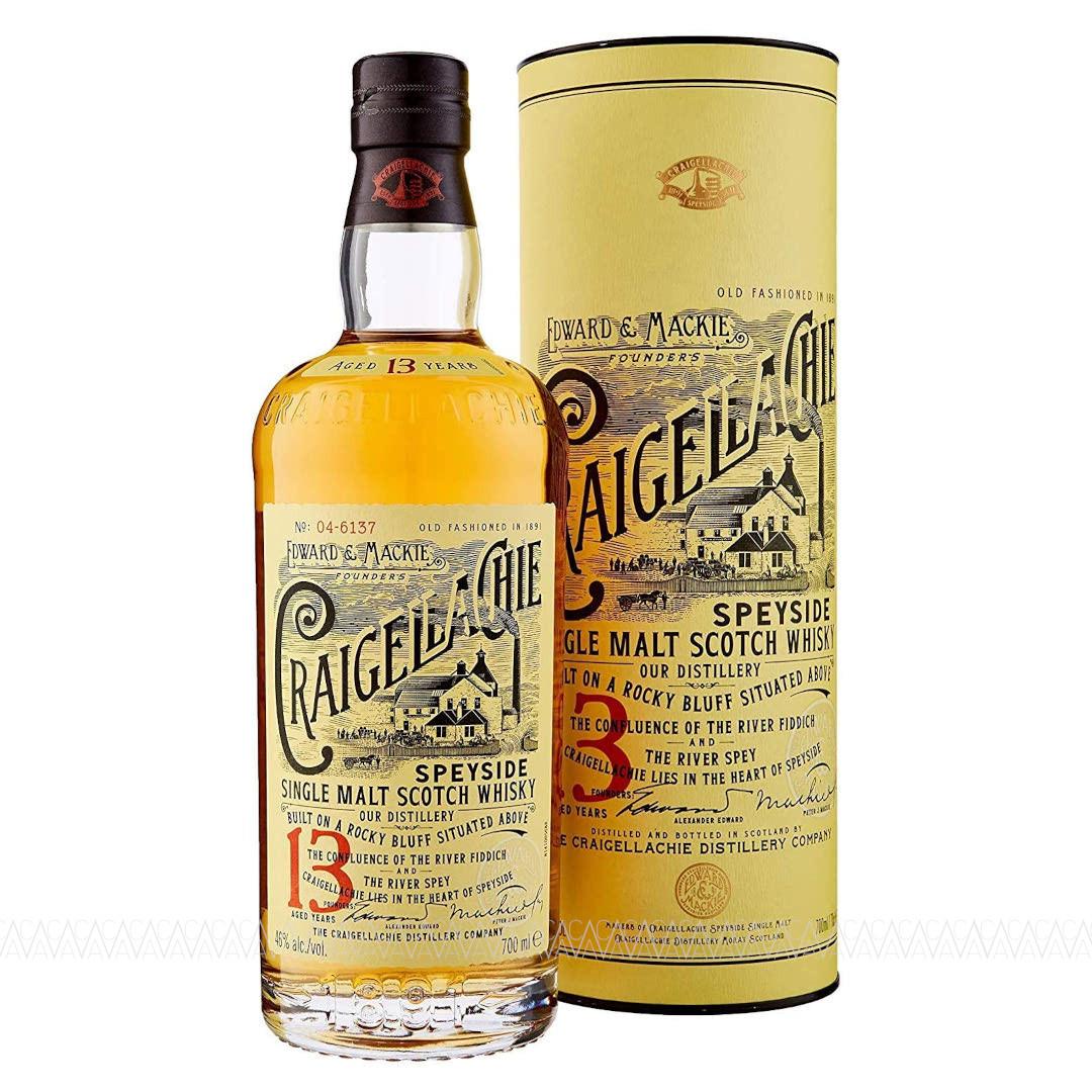 Craigellachie 13 Years Old Single Malt Scotch Whisky 700ml